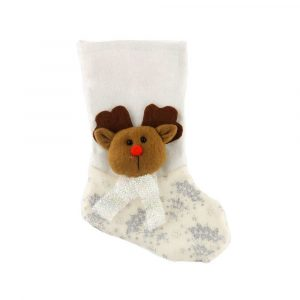 Classic Santa Snowman Reindeer Character Christmas Stocking
