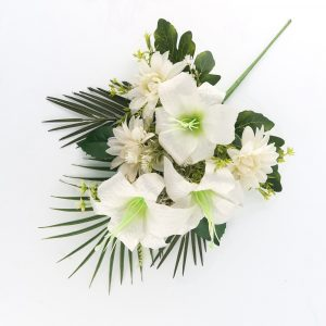 Artificial Lily and Dahlias Bouquets