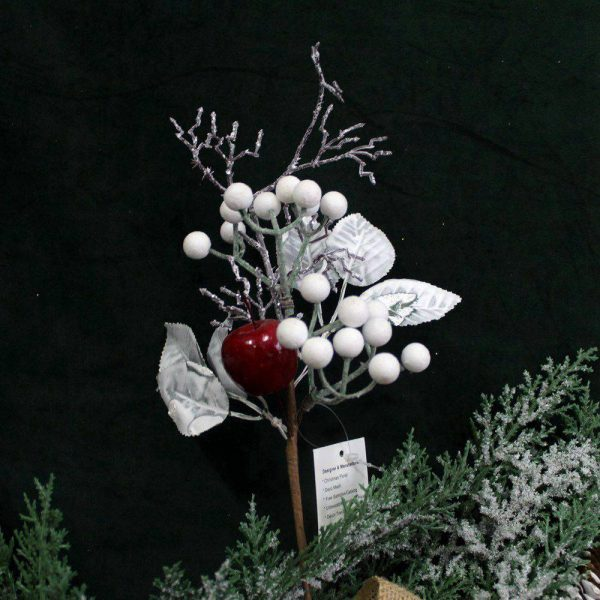 Christmas Snowy Floral Picks Wholesale