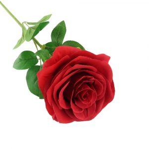 """Red Colored Artificial Rose Stem 24"""""""