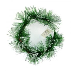 Realistic Green Pine Needle Candle Ring Supplier