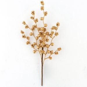 Christmas Gold and Silver Ball Twig for Xmas Decor