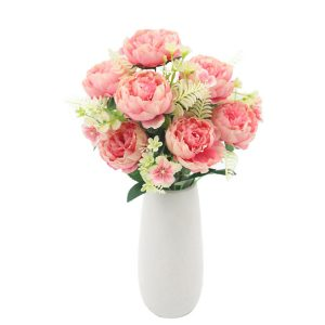 Artificial Vintage Peony Flowers for Wedding Decoration
