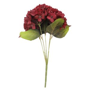 Hydrangea Stems Artificial Flowers with Stems for Home Wedding Decor