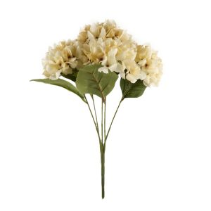 5 Heads Hydrangea Bunch Beautiful Artificial Flower Bouquet