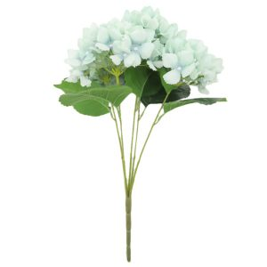 Silk Hydrangea Flower in Pastel Colour for Home Decor