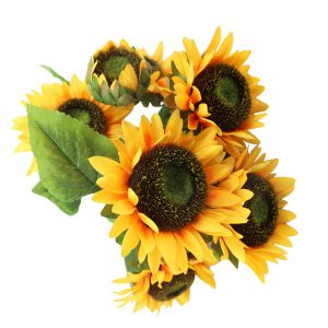 Artificial Radiant and Enchanting Sunflower Bush