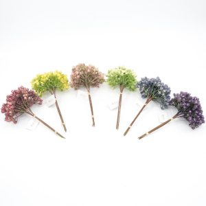 Artificial Flower Bud Bush for Feast Occasions Home Decor