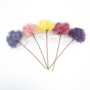 Artificial Echinops Stem for Feast Occasion Decor